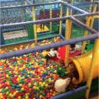 Piscina de bolas, increíble para los más pequeños